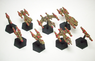 Fleet Pack (8 Minis) & PDF Rules Bundle