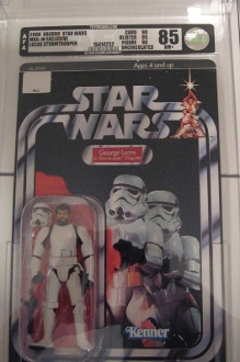 Star Wars: George Lucas StormTrooper in Disguise AFA 85U NM+